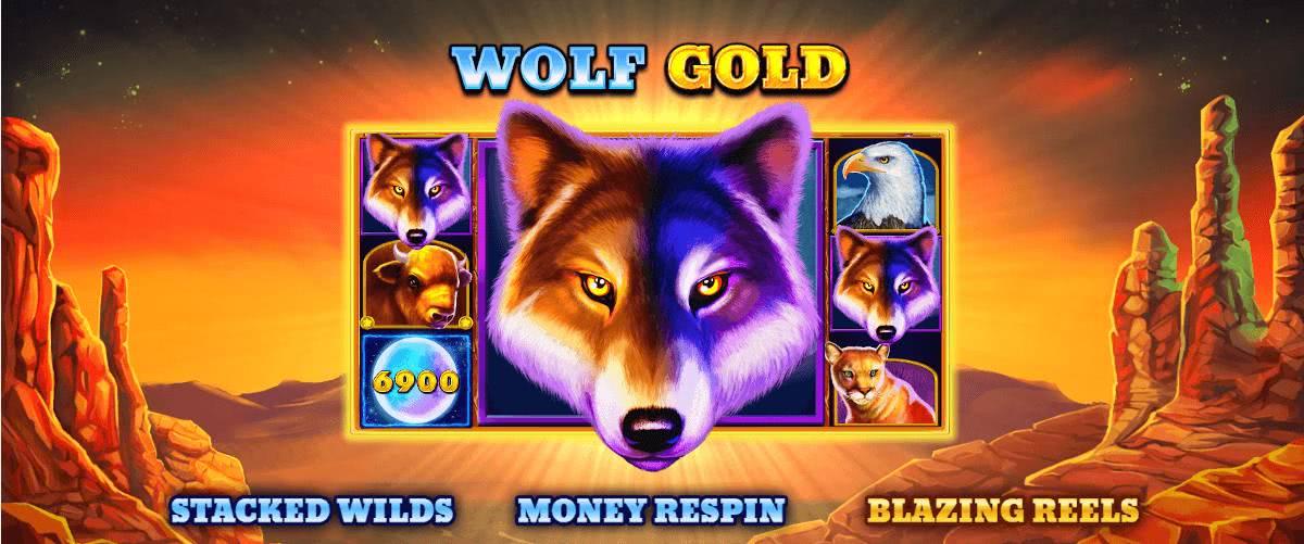 Wolf Gold bonus features
