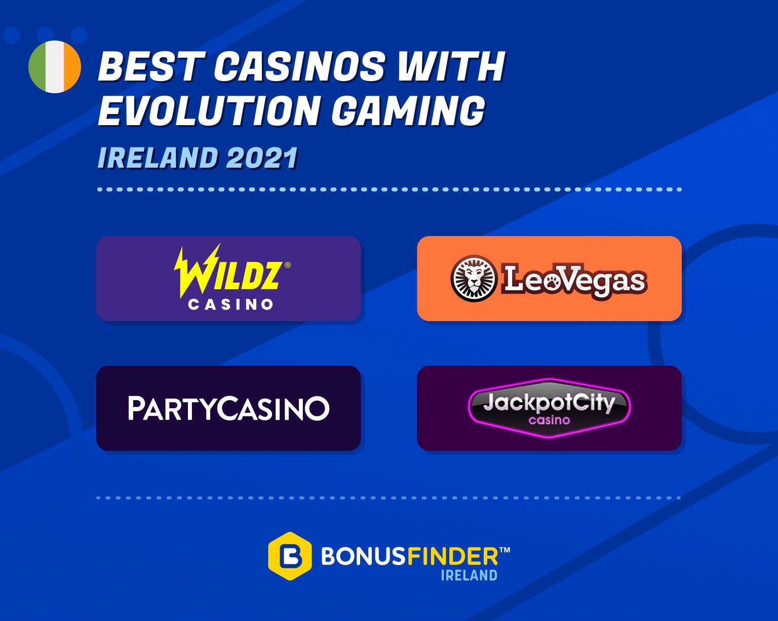best evolution gaming casinos