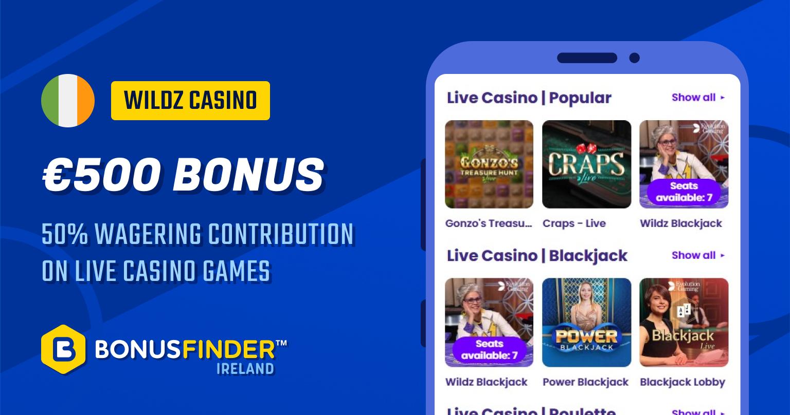 best live casino ireland