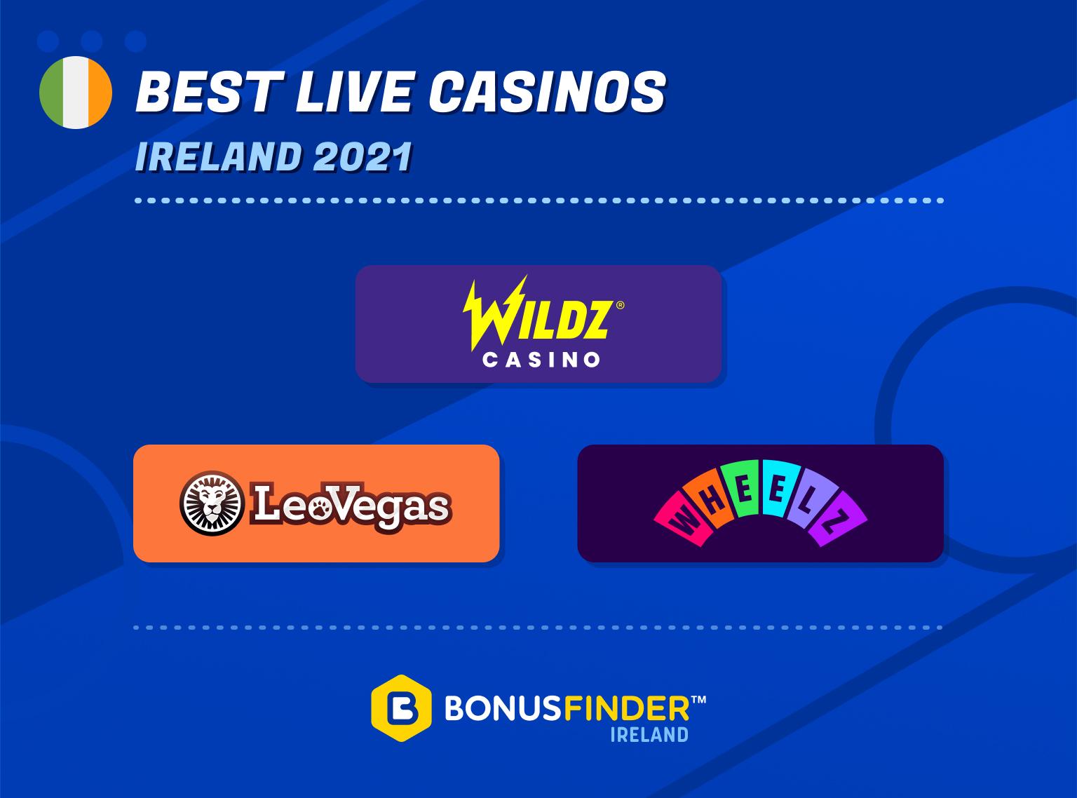 best live casinos ireland