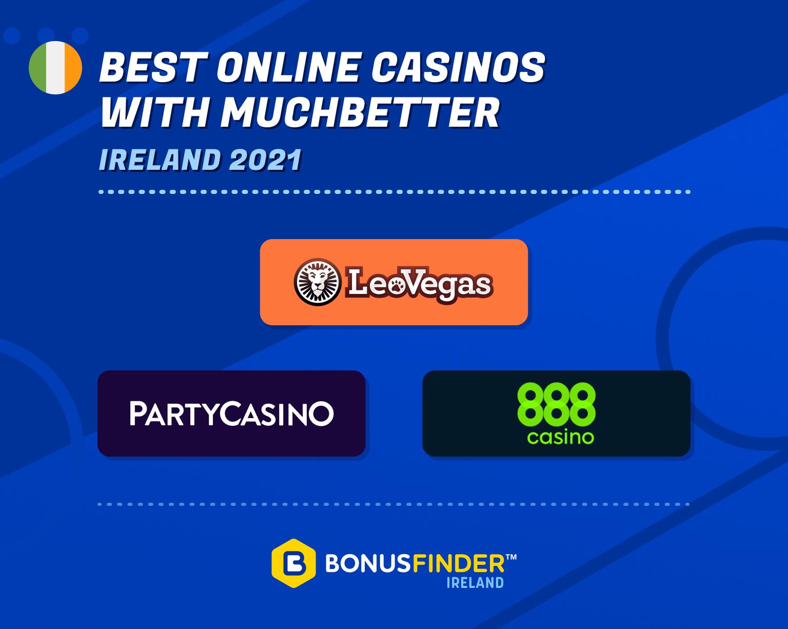 best muchbetter casinos ireland