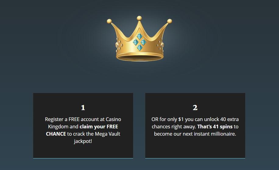 casino kingdom no deposit bonus free spins