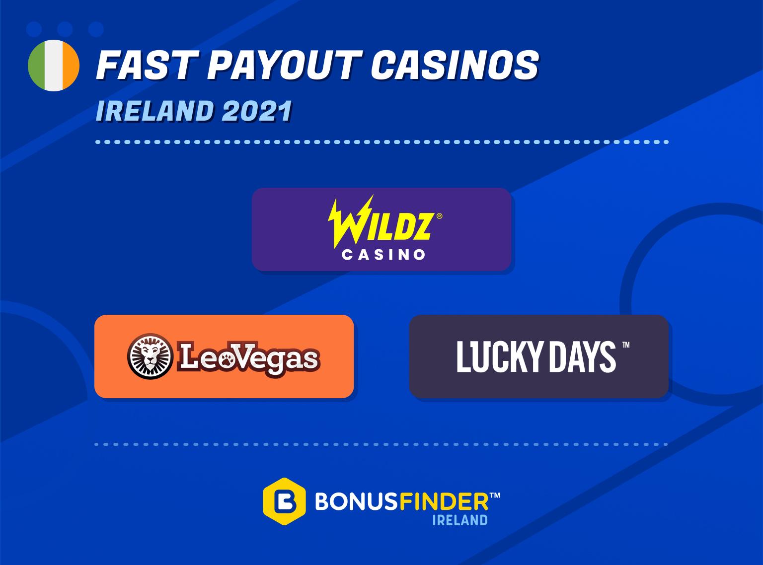 fast payout casinos ireland