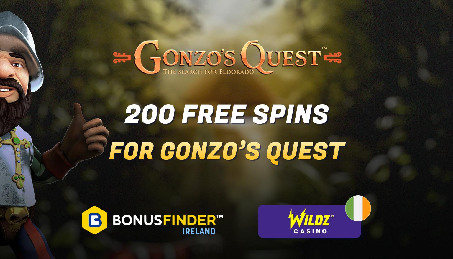 gonzos quest free spins