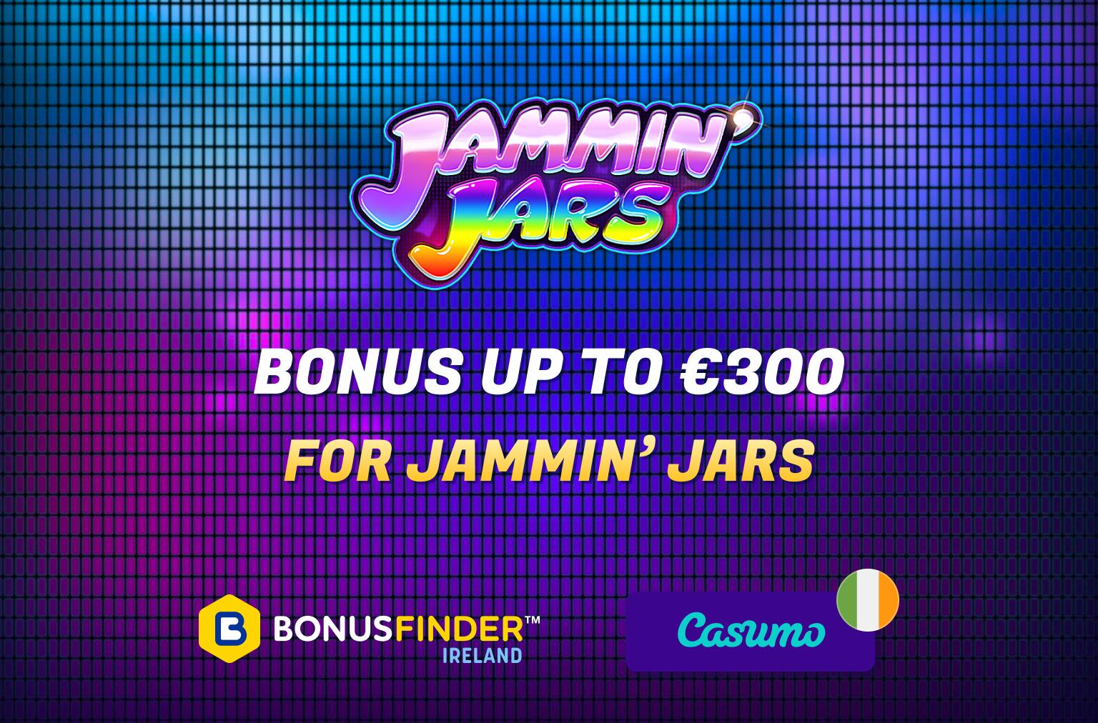 jammin jars free spins bonus