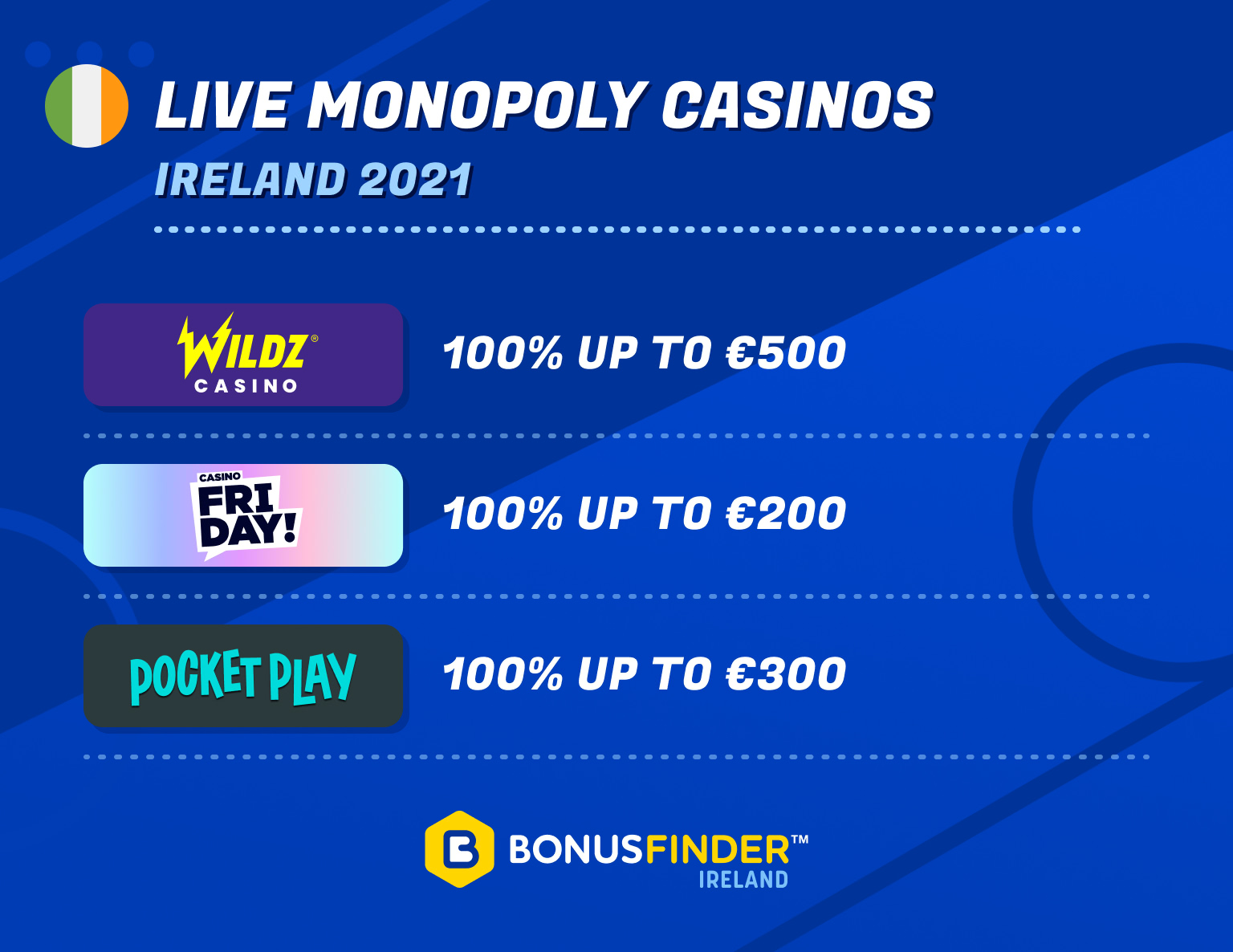 live monopoly casino bonus