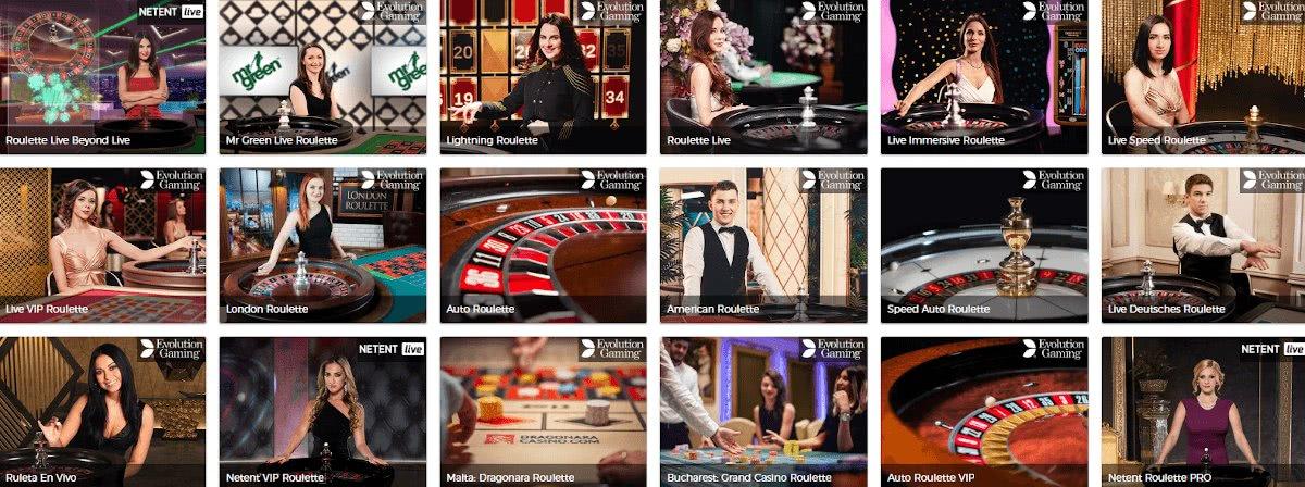 best live roulette casino sites