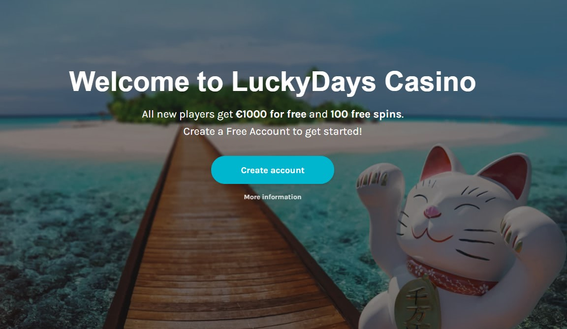 lucky days casino ireland