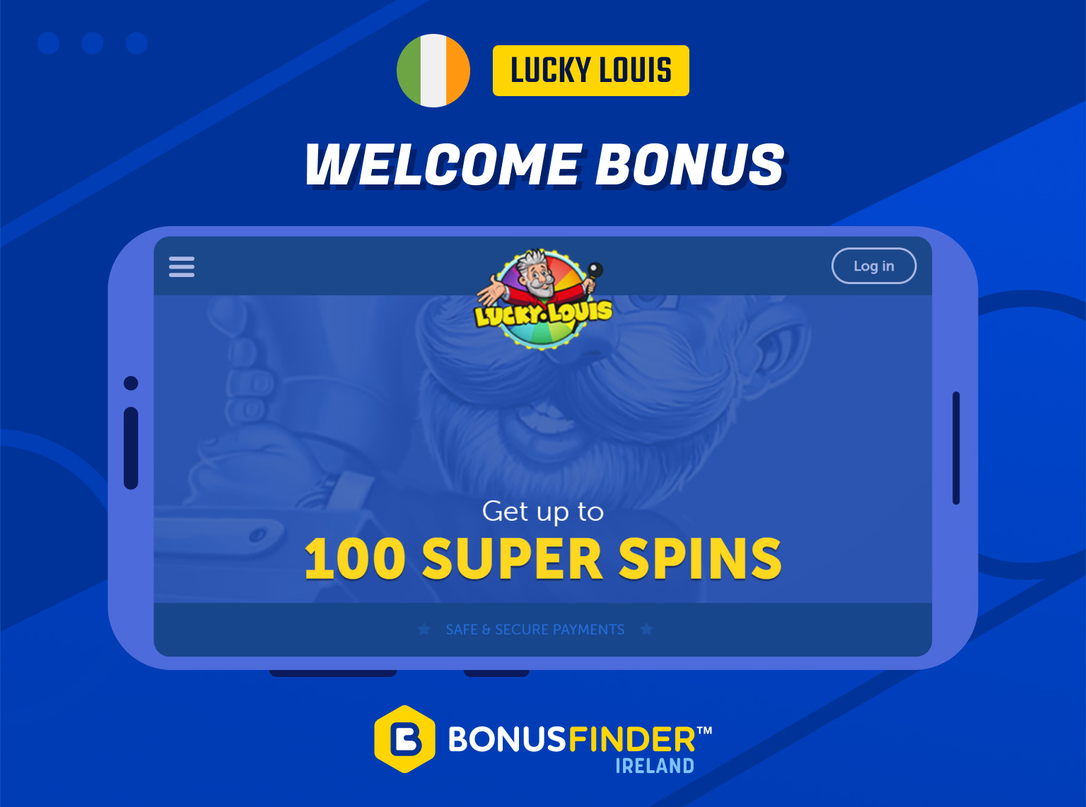 lucky louis bonus free spins