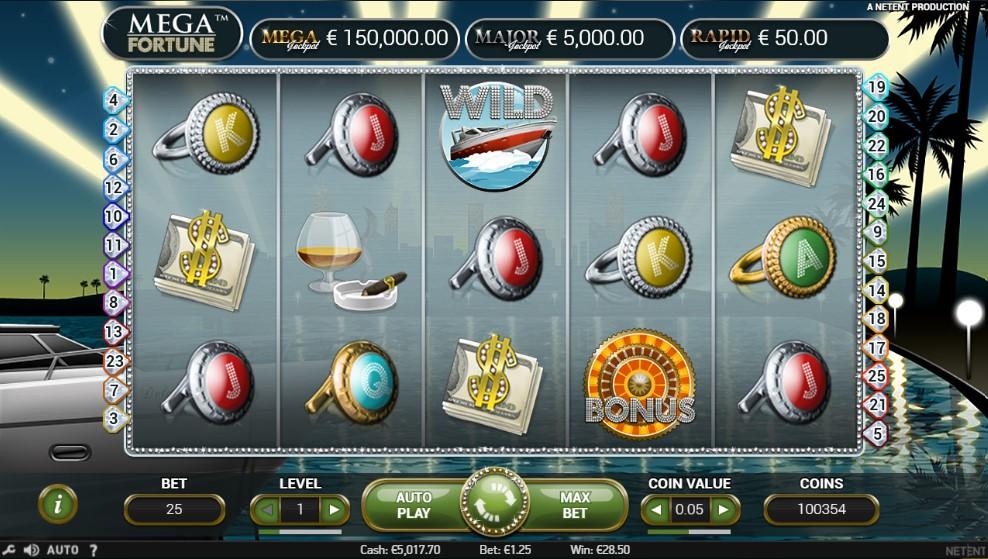 play mega fortune slots