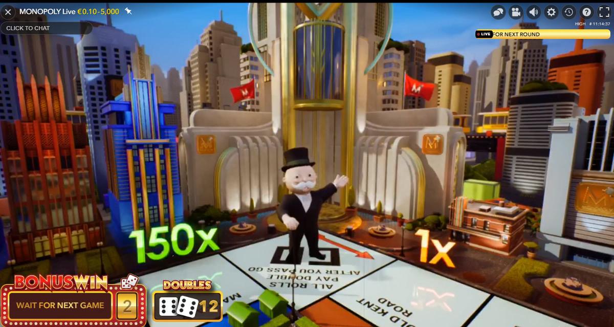 monopoly bonus game