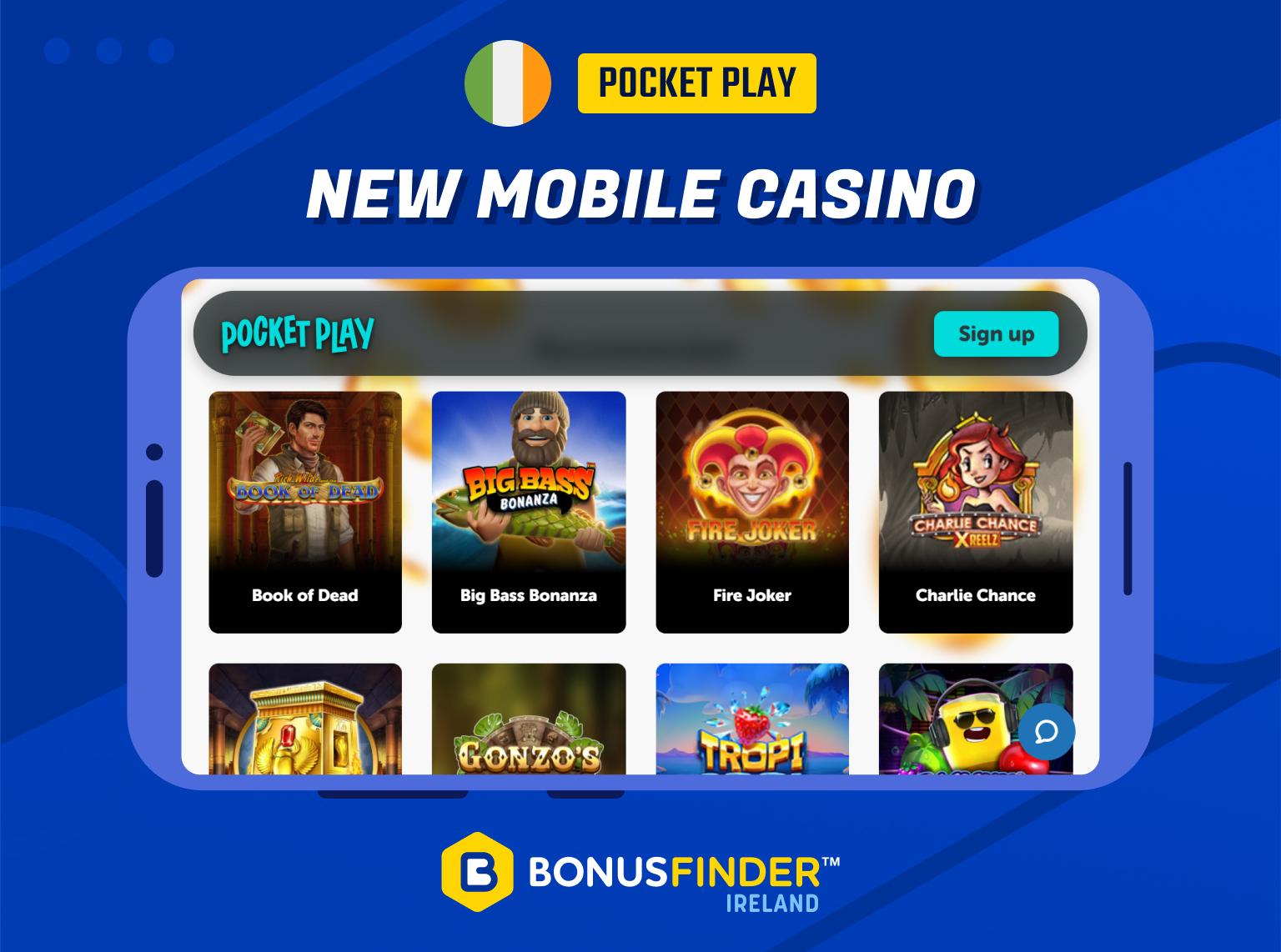 new mobile casinos ireland 2021