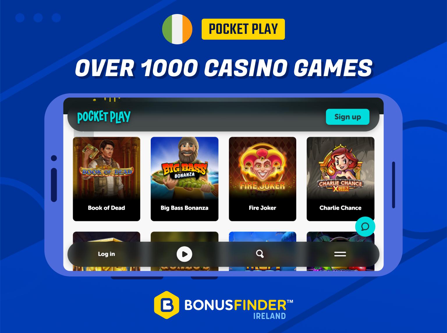 pocketplay casino ireland