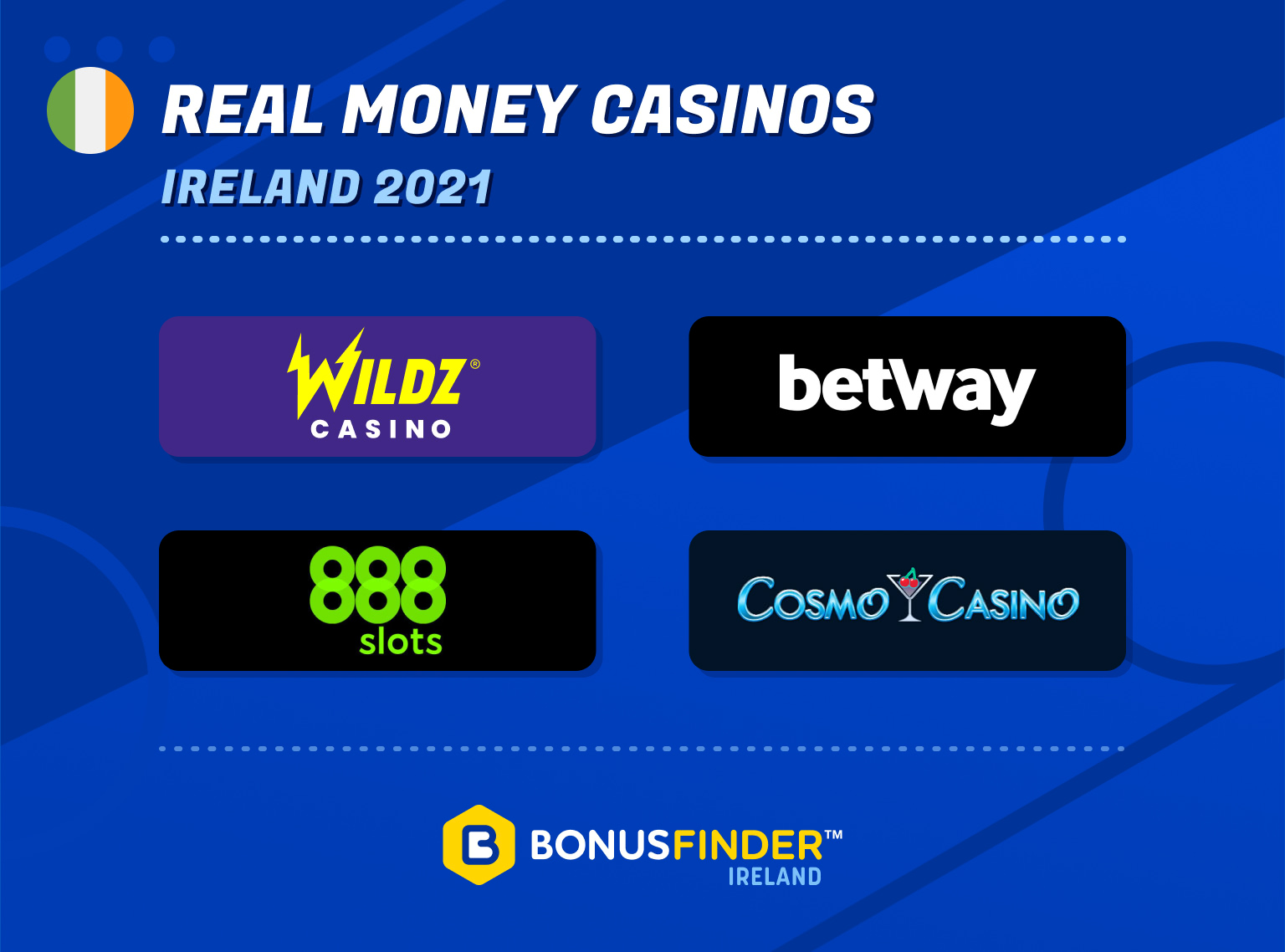 real money casinos ireland