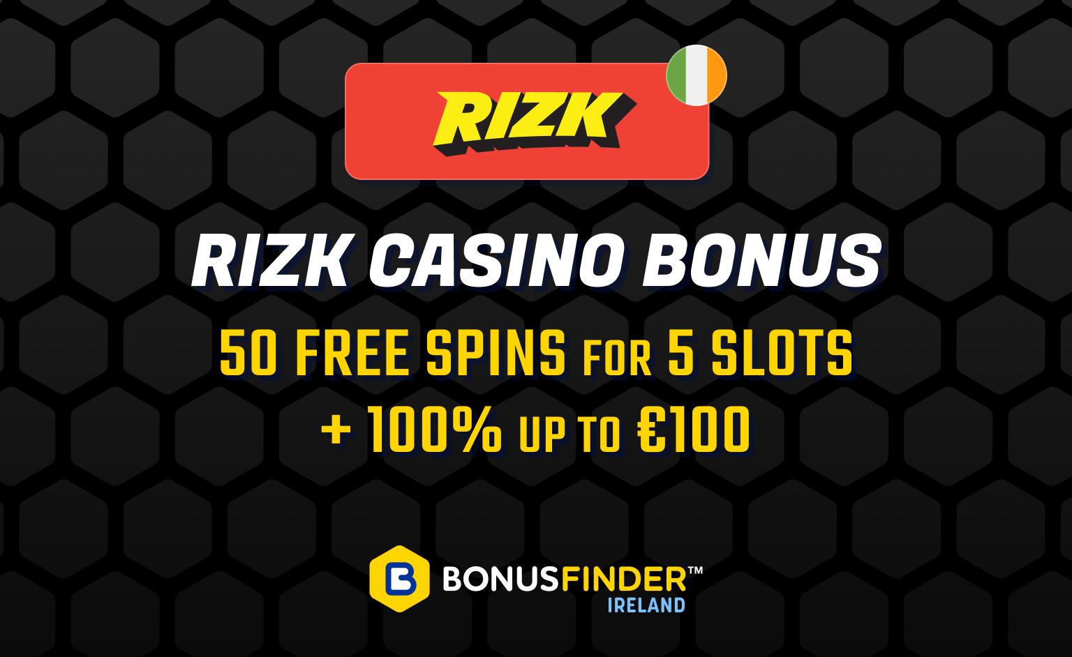 rizk welcome bonus
